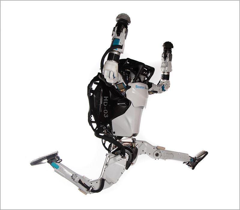Boston Dynamics kreeg onder andere bekendheid met zijn humanoïde robot Atlas.