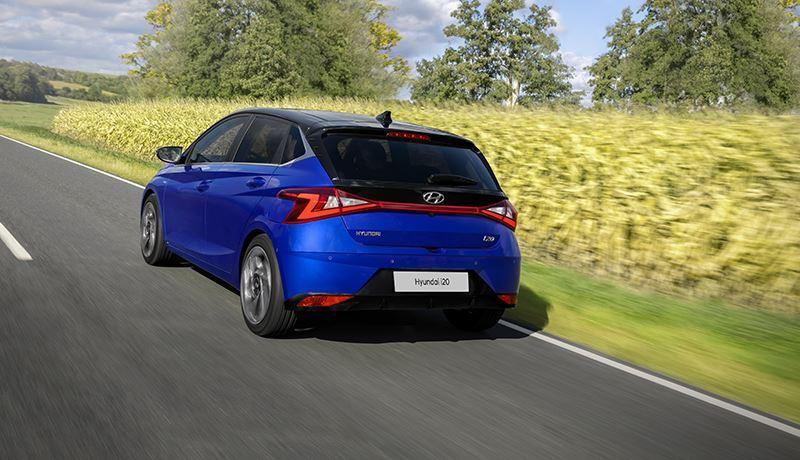 De nieuwe Hyundai i20 is volgens het AD een behoorlijk brutaal getekende auto.