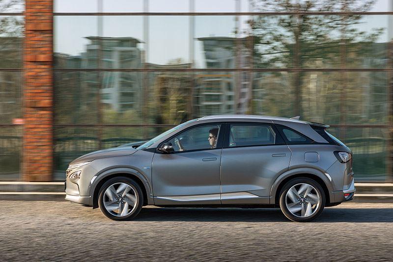 Van de waterstofauto Hyundai NEXO werden in 2020 in Nederland zo'n 140 exemplaren verkocht.