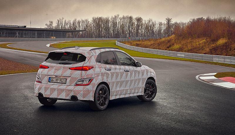 Onder motorkap van de Hyundai KONA N schuilt een 2,0-liter turbobenzinemotor.