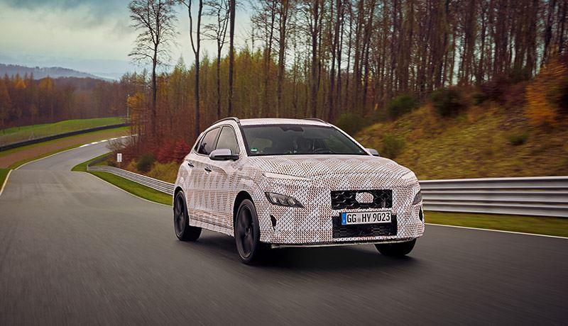 De Hyundai KONA N is uitgerust met Launch Control voor een ongekende acceleratie.