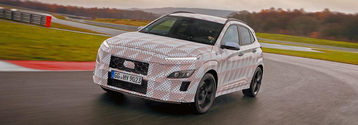 Dit is de KONA N, de allereerste hot-SUV van Hyundai