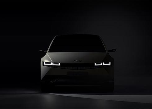 Hyundai deelt teaserbeeld IONIQ 5