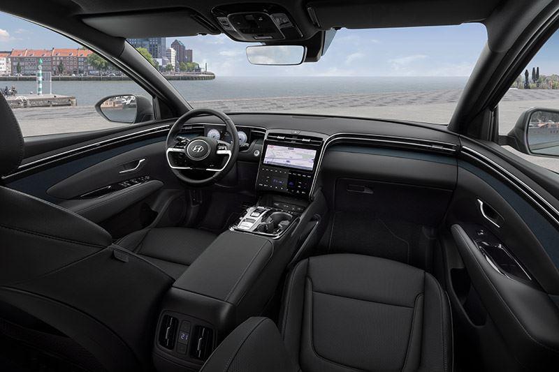 Autozine: De afwerkingskwaliteit in de Hyundai TUCSON is van hoog niveau.