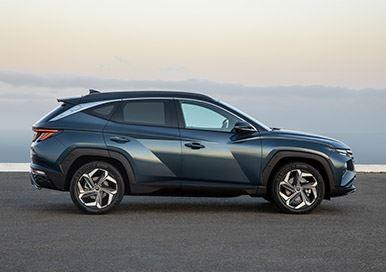 'Nieuwe TUCSON, een auto waar de concurrentie zich op stuk kan bijten'