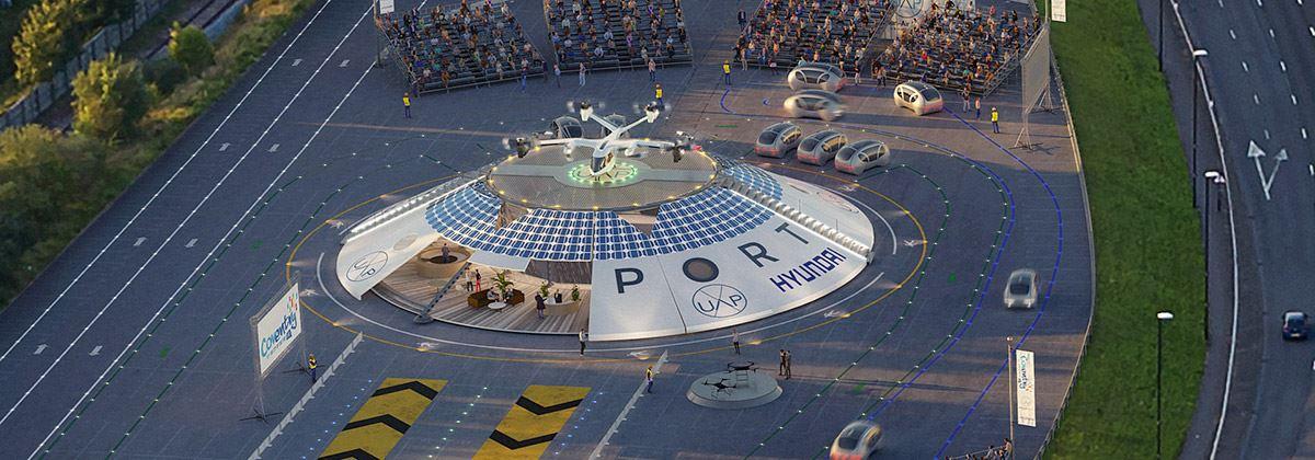 Hyundai partner in pop-up Urban Air Port