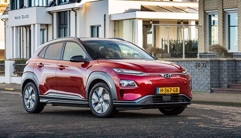 De Hyundai KONA Electric heeft een actieradius tot wel 484 km (WLTP).