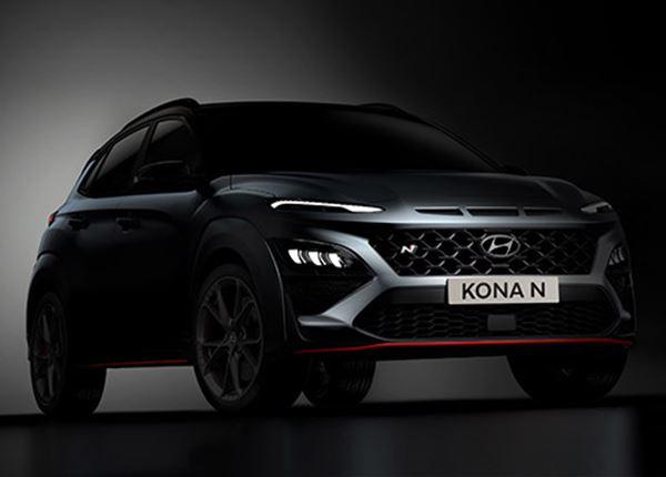 Hyundai toont eerste beelden KONA N