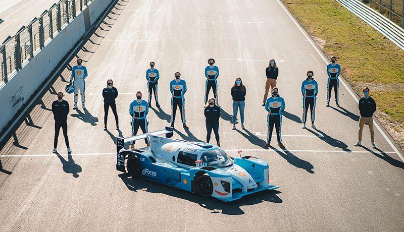 Forze Hydrogen Racing houdt zich al sinds 2007 bezig met emissievrij racen. Het team is ontstaan vanuit de TU Delft en bestaat uit ruim zestig studenten.