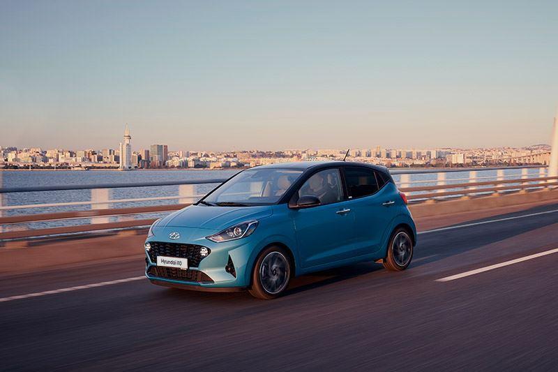De rijeigenschappen van de Hyundai i10 doen de meter positief uitslaan.