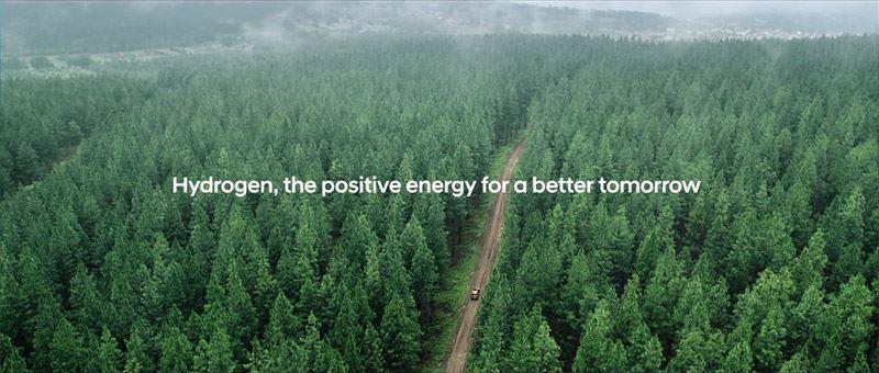 Hyundai streeft naar een samenleving zonder uitstoot, de waterstofmaatschappij.