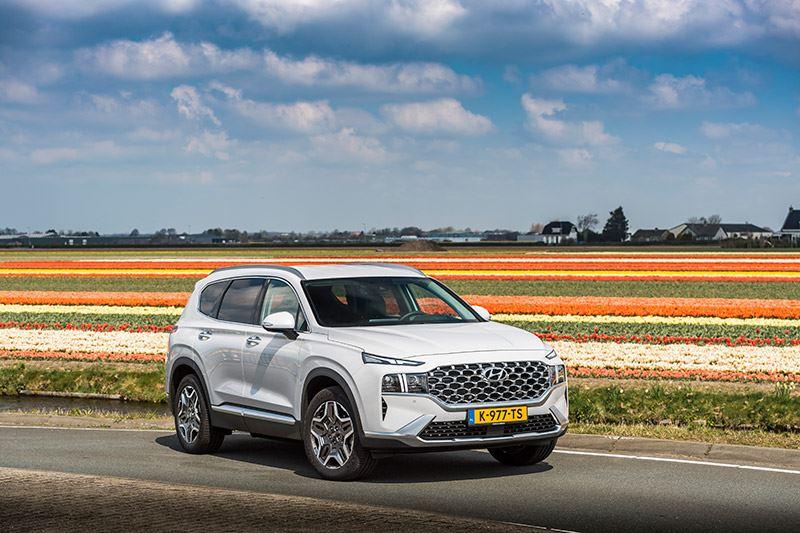 'Het verbruik van de Hyundai SANTA FE is met dik 1 op 13 keurig voor zo'n grote auto'.