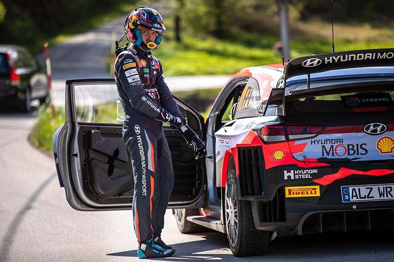 Thierry Neuville rijdt al sinds 2014 voor het rallyteam van Hyundai en boekte in totaal 13 overwinningen.