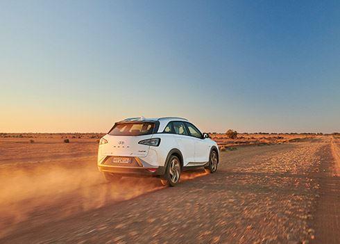 Hyundai NEXO vestigt nieuw wereldrecord: 887 km op één tank waterstof