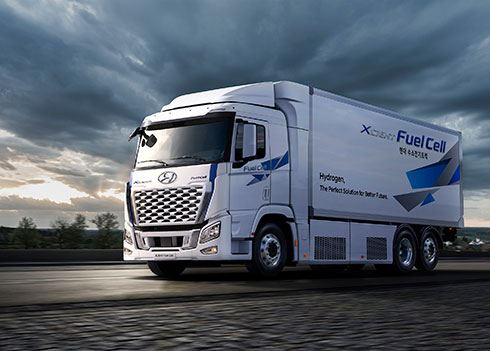 Opgelet, de waterstoftruck van Hyundai komt eraan!