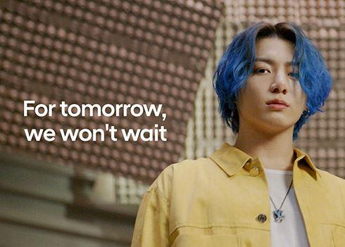 K-popband BTS en Hyundai maken zich sterk voor een schonere wereld