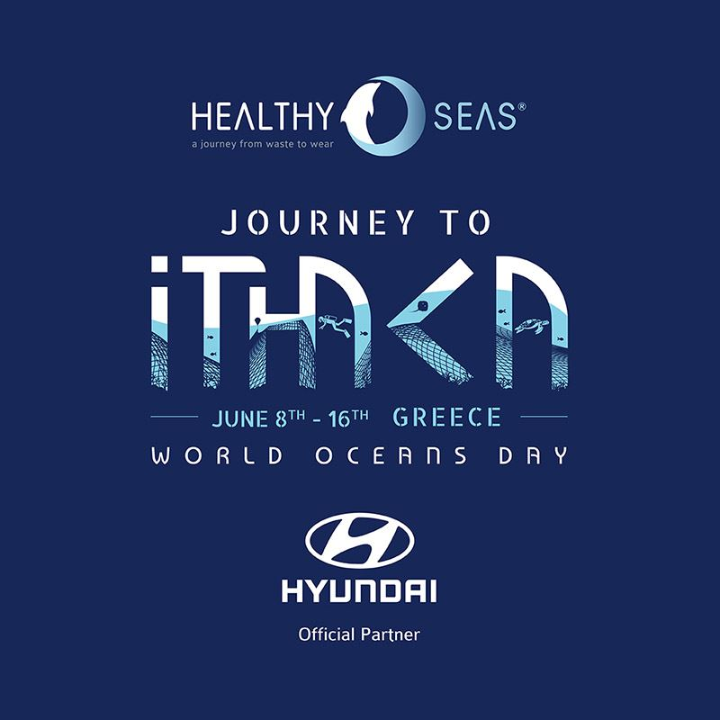 Wereldoceanendag vormt voor Hyundai en Healthy Seas het startsein voor een grote opruimactie in de zeeën rond het Griekse Ithaka.