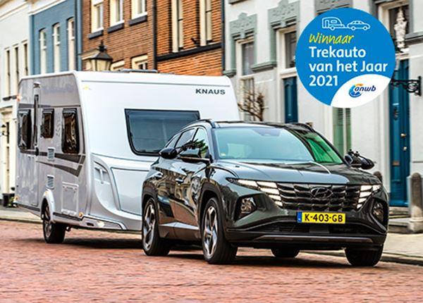 Hyundai TUCSON is ANWB Trekauto van het Jaar 2021