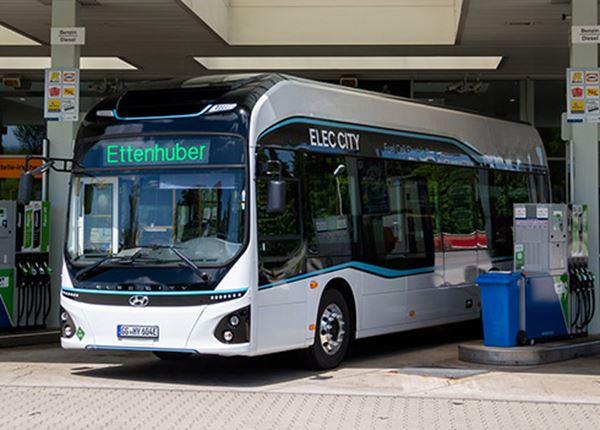 Hyundai doet pilot met waterstof-elektrische stadsbussen