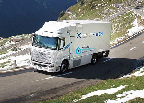 Bijzondere mijlpaal voor waterstoftrucks van Hyundai