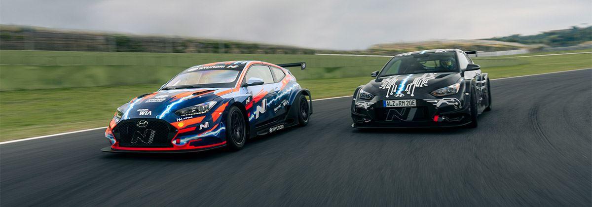 Topresultaten Hyundai in PURE ETCR: start van nieuw, geëlektrificeerd tijdperk