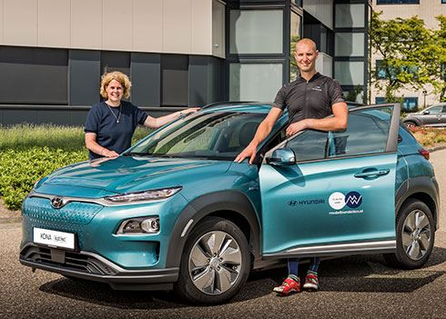 Hyundai in actie voor MvdWfoundation