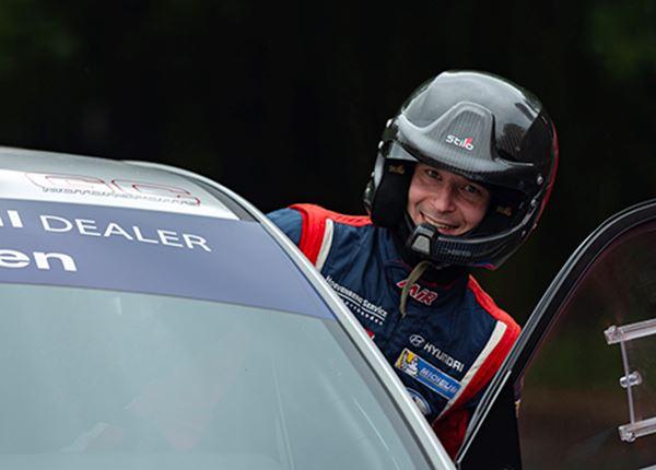 Rallyrijder Bob de Jong: 'Ik wil het maximale eruit halen'
