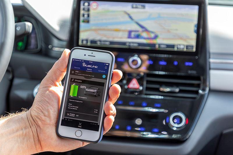 Hyundai kreeg voor Bluelink al een iF Design Award 2021 in de categorie Communicatie Design en bij de Red Dot Design Awards 2021 was het weer raak.