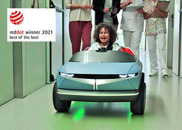 17 Red Dot Design Awards 2021 voor Hyundai