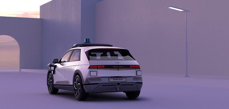 De robotaxi van Hyundai is gebaseerd op de volledig elektrische IONIQ 5.