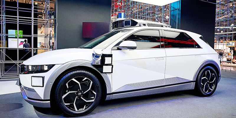 Hyundai IONIQ 5-robotaxi.