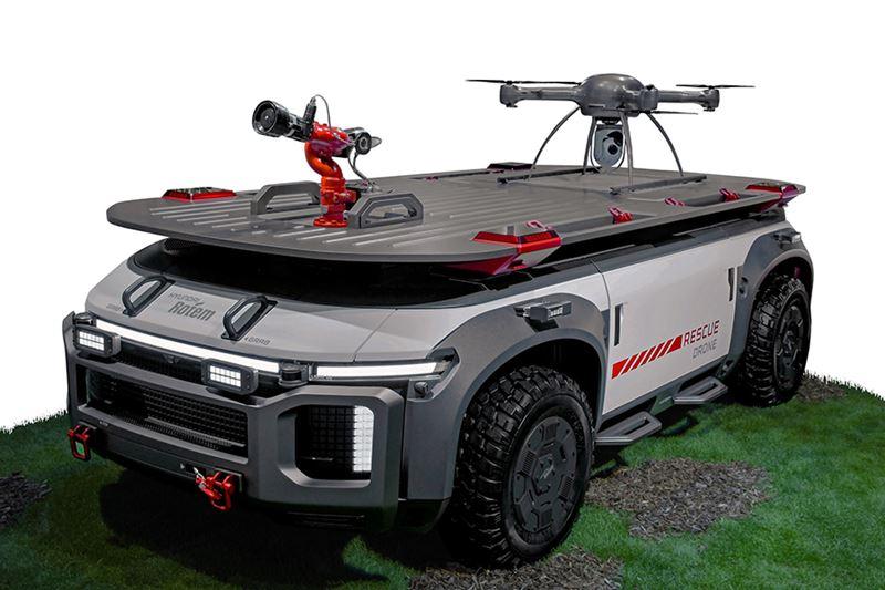De Rescue Drone van Hyundai.