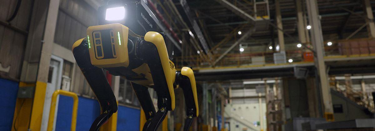 Hyundai presenteert Factory Safety Service Robot