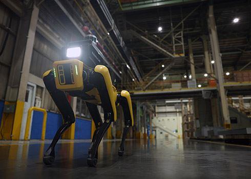 Deze briljante robot waakt over de veiligheid op de werkvloer