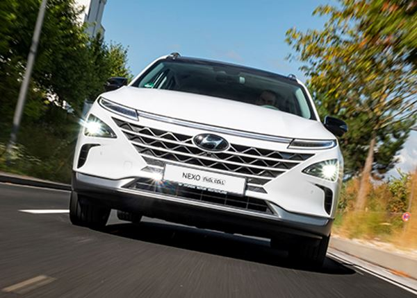1.000ste waterstofauto Hyundai NEXO verkocht in Europa