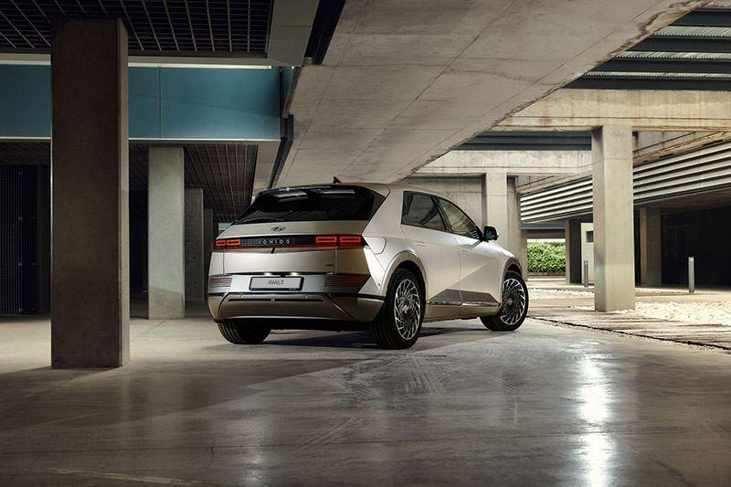 Het materiaalgebruik en de afwerking zetten de Hyundai IONIQ 5 aan de top van zijn klasse.