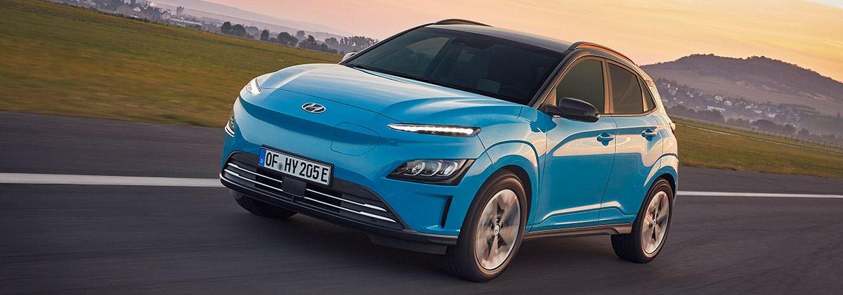 Hyundai introduceert de vernieuwde KONA Electric