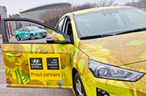 IONIQ Hybrid en Electric voor Van Gogh Museum