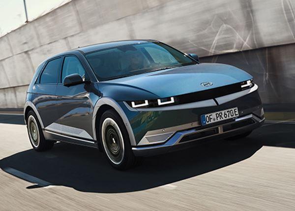 IONIQ 5 op koers voor titel German Car of the Year 2022