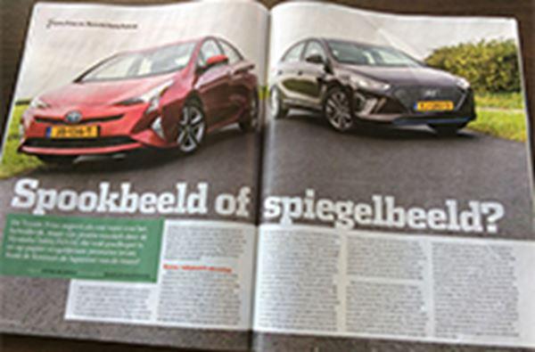 Autovisie: Hyundai IONIQ stoot Prius van de troon!
