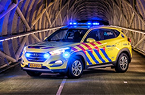 VRR kiest voor Hyundai Tucson als ambulance
