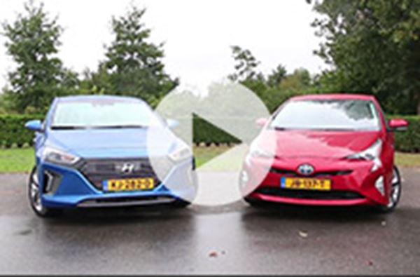 Hyundai IONIQ is Prius de baas in test AutoWeek!