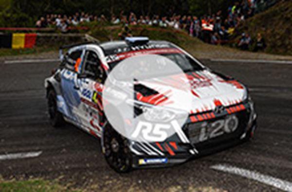 Thierry Neuville naar het zilver in Rally van Corsica