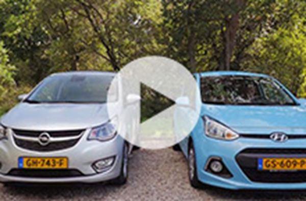 Hyundai i10 verslaat Opel Karl in test ANWB