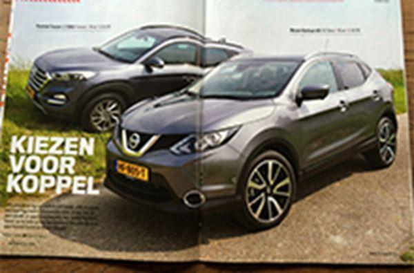 Hyundai Tucson 1.7 CRDi verslaat Nissan Qashqai
