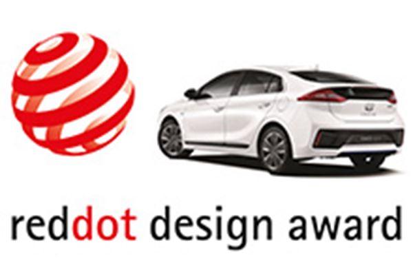 Trots op Red Dot Design Award voor onze IONIQ