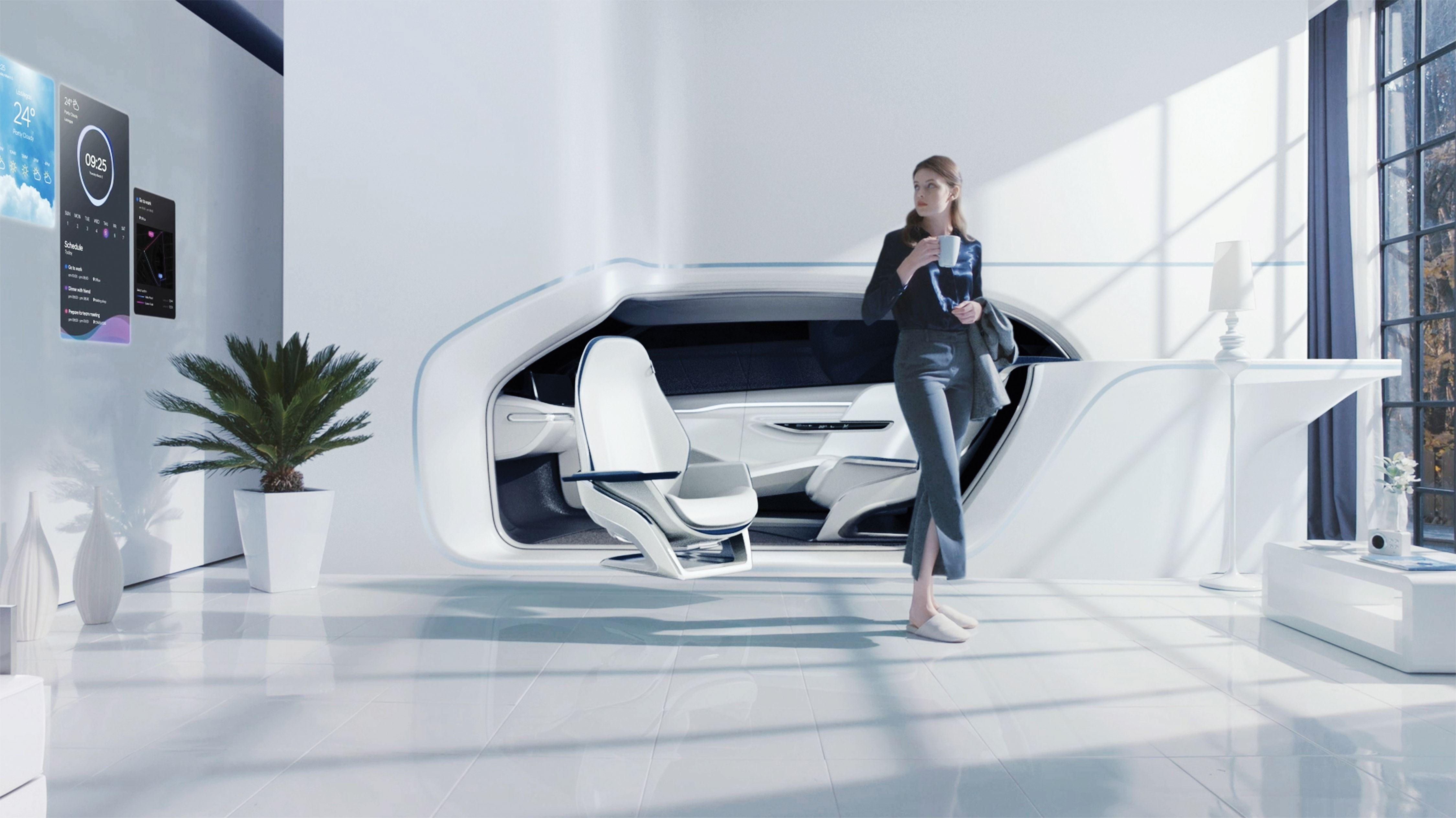 Hyundai toont visie op toekomstige mobiliteit tijdens Consumer Electronics Show 2017 in Las Vegas.
