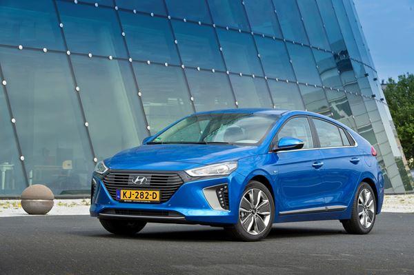 5 sterren van Euro NCAP voor de Hyundai IONIQ