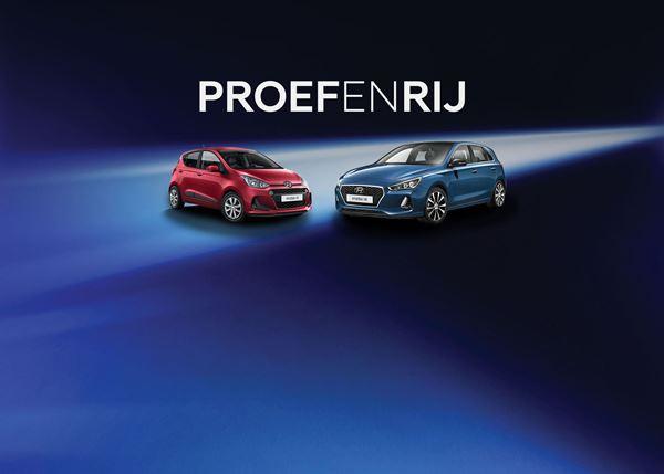 Kom ook smullen van de Hyundai i10 en i30!