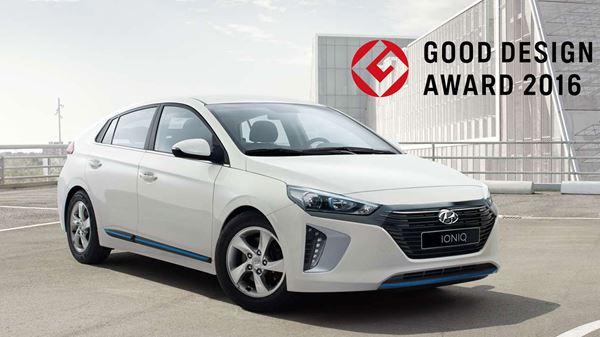 Good Design Award 2016 voor de Hyundai IONIQ